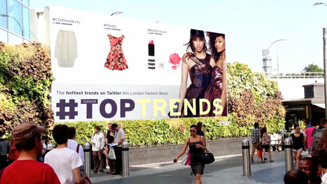 DailyDOOH » Blog Archive » Top Shop/Twitter & Women\'s Aid Top Art of ...