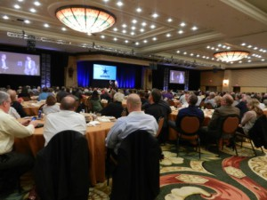 Full house for luncheon guest speaker, NFL Hall of Famer Troy Aikman