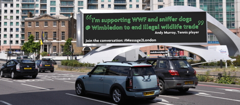 Andy Murray new #message2london - Vauxhall 470