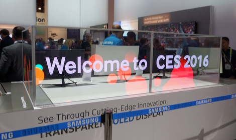 CES2016 - Samsung Transparent Display