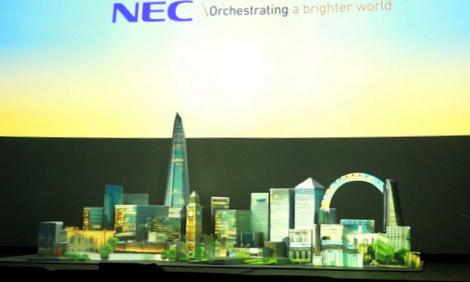 NEC Showcase May 2016 proj mapping