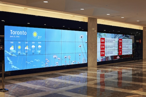 BMO Video Wall