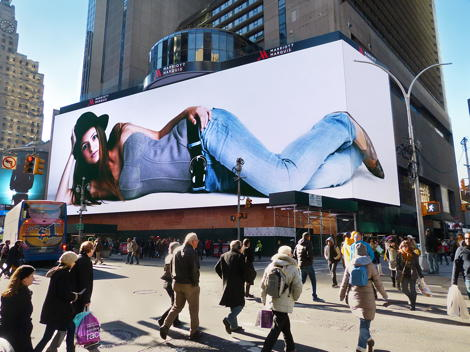 Giant Times Square Billboard
