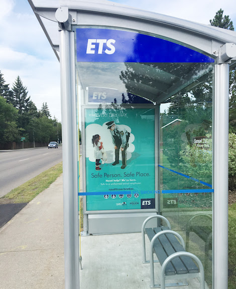 how to open clear channel bus shelters