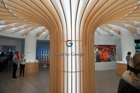 NYDSW2016 - Google pop up store