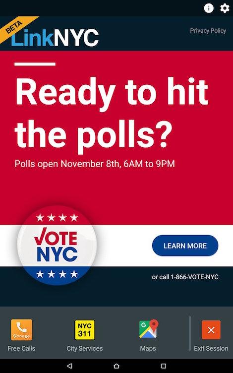 LinkNYC Vote