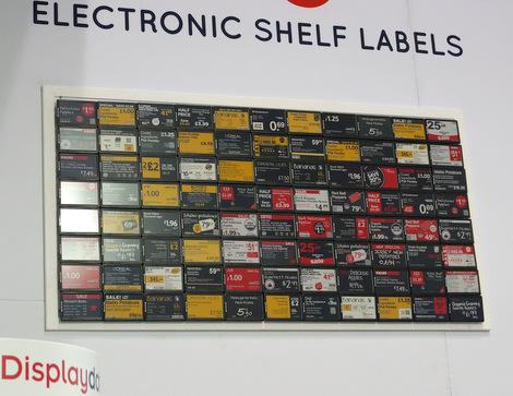 NRF2017 - DisplayData ESL videowall 2