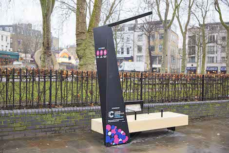 Cancer Research UK has joined forces with smart city business Strawberry Energy to launch a network of Smart Benches